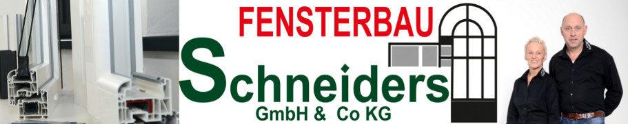 Header image Schneiders Fensterbau GmbH & Co.KG